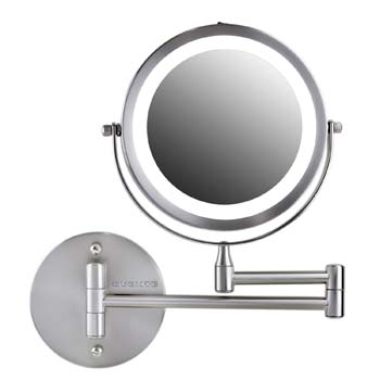 10: Ovente Wall Mounted Double-sided 180 extendable arms Vanity Makeup Mirror