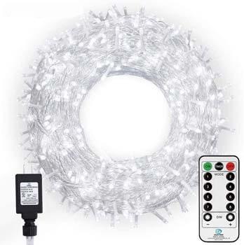10: Ollny LED String Lights 800 LED 330FT Long Christmas Light