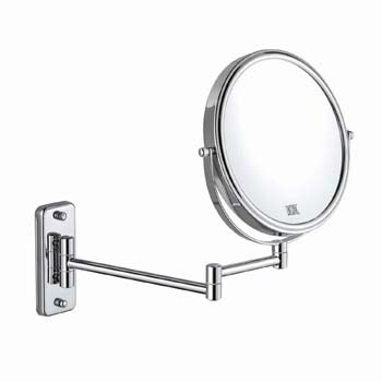 9: DECLUTTR 8 Inch Wall Mounted Magnifying Mirror
