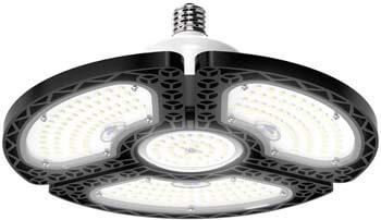 10: LED Garage Lights, 80W Deformable LED Garage Ceiling Lights