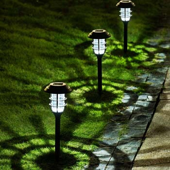 4: Solpex 8 Pack Solar Pathway Lights Outdoor