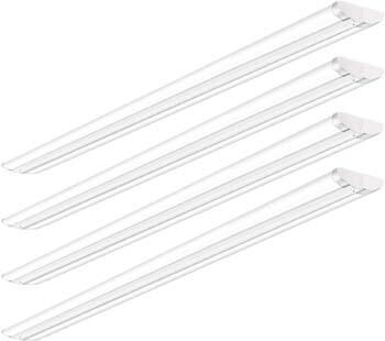 8: AntLux 110W 8FT LED Shop Lights Ultra Slim LED Wraparound, 12600LM, 5000K, 8 Foot Strip Light